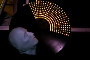 Lights and mask